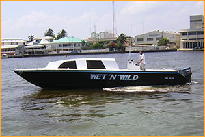 Ecological Tours boat - Wet N Wild